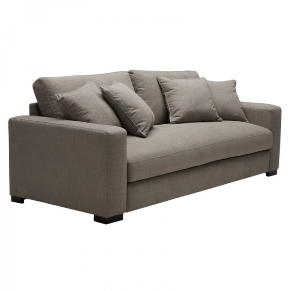 Single Leather Living Room Sofa